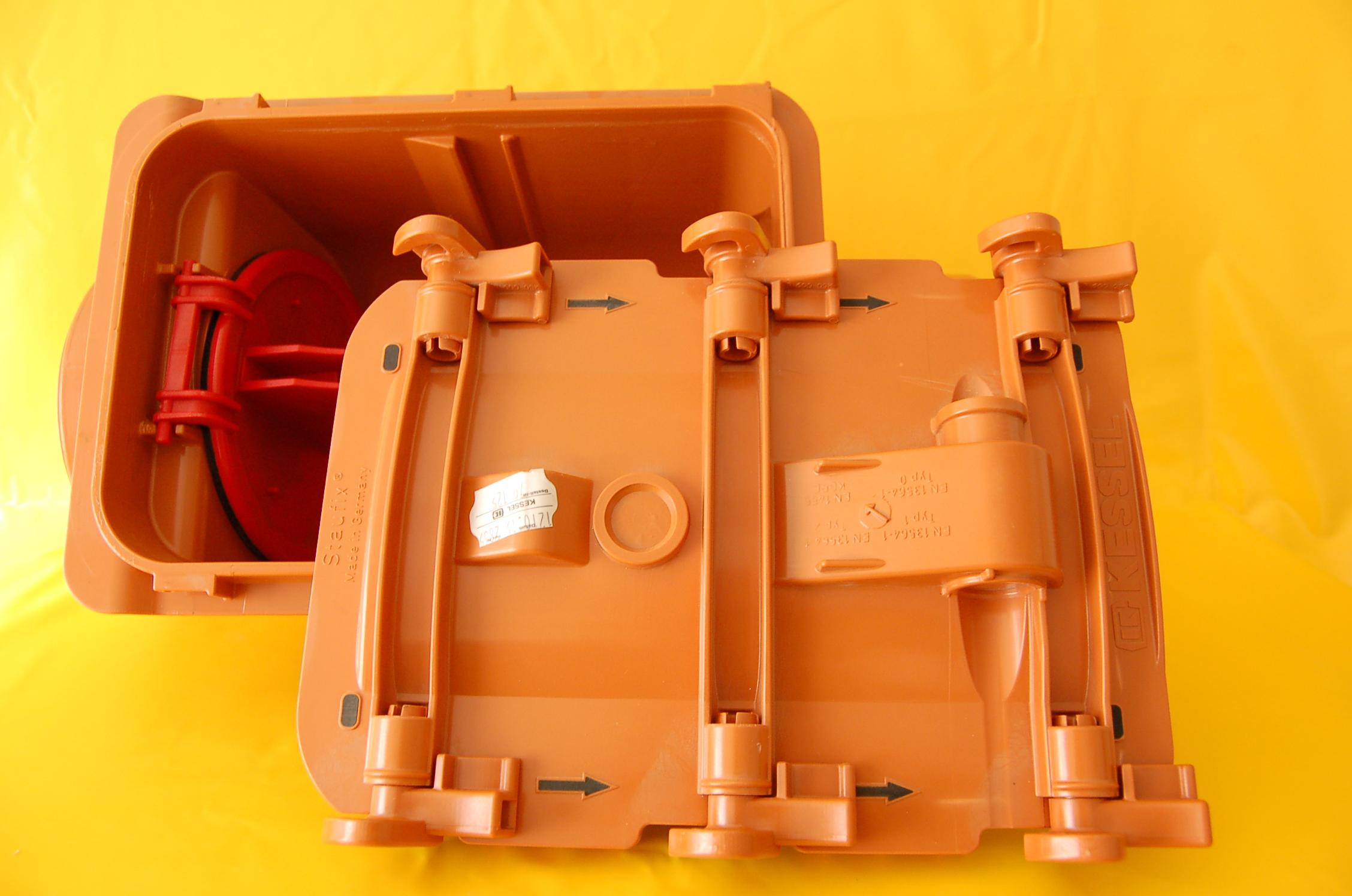 71125 Kessel Staufix DN 125 Einfachrückstauverschluss 1 x ...